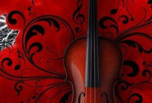 Red Violin / All things red / by Marian Holcomb Rainer