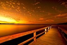 Sunset Orange / all things orange / by Marian Holcomb Rainer