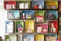 Craft Room Storage / by Leena Loh