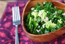 Leafy greens / Leafy greens are a substantial portion of any healthy diet, adding fiber and delicious flavor to your meals!