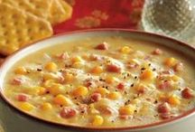 Soup's On / I live in Michigan. It's cold. We eat a lot of soup. Soup recipes are popular during our 8-month-long winter.