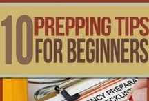 PREPPING for Beginners / Preparedness, prepping, self-sufficiency, first aid, emergency kits, food storage, water storage, sanitation. >>TheSurvivalMom.com<<