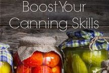 Skill of the Month: Canning! / Whether you're a newcomer to canning or a pro, there's always something new to learn and try! Follow this board for canning tips, tutorials, and new ideas! www.TheSurvivalMom.com / by The Survival Mom