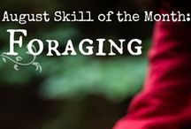 Skill of the Month: Foraging / Learn about the edible plants and herbs in your area and how to forage for them safely. www.TheSurvivalMom.com