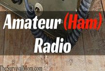 Skill of the Month: Amateur (Ham) Radio / You, yes, you!, can become a ham radio operator! Read these articles, study the online guides, and pass the test. If I did it, you can, too! www.TheSurvivalMom.com / by The Survival Mom