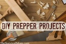 Skill of the Month: DIY Prepper Projects / Put your DIY skills to the test with these prepper and survival projects. www.TheSurvivalMom.com / by The Survival Mom