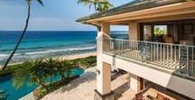 Maui Beachfront Homes for Sale / Homes for sale on the beach in Maui, Hawaii. Luxury real estate sales. Grand Estates, multi-million dollar homes & mansions, amazing architecture, state-of-the-art property amenities all right on the beach!
