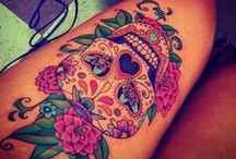 lillian gets a tattoo / by lillian wright