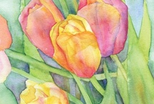 watercolor inspiration / by Wendy Steinmetz
