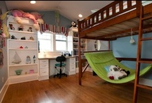 Decor - Home: Kids' Rooms / Kids' bedroom, bathroom and child-friendly outdoor space ideas.