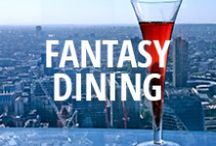 Fantasy Dining / We have no idea if the food at these restaurants tastes good, but the locations are to die for. / by Zomato USA