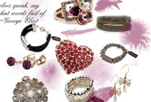 Jewelry: let it shine... / I like it simple, I like it over the top, I like the bling bling and I like the colour...