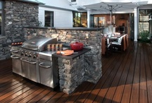 Over the Modern Campfire / The new awesome outdoor kitchen and more