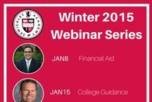 SA Webinar Series / Winter 2015 Webinar Series covering financial aid, college guidance, raising boys, empowering girls, what we do teach, and the math program.
