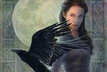 LARP Character -- Morganna Le Faye / My Lore villain.
