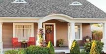 Home Exterior Decorating Ideas / A home exterior board devoted to decorating ideas, home exterior, yard, siding, roofing, front porch, back porch, patio, deck, shed, garden, lawn, driveway, curb appeal and more.
