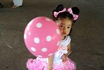 ಌ Sophia is Turning 2 ಌ Minnie Mouse & Friends Bowtique ಌ / My little munchkin loves Minnie Mouse and friends, so for her 2nd Bash I'm going with a girly Minnie Mouse Bowtique party.