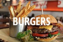 Burgers / The most delicious burger pictures on Urbanspoon. / by Zomato