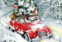 CHRISTMAS IllUSTRATIONS / by Tracy Seauw