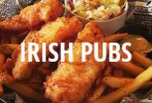 Irish Pubs / Saint Patrick's Day is almost here, and you need to be prepared for a night of drinking... Irish style, of course. Here are the some of the highest rated Irish Pubs on Urbanspoon. / by Zomato USA