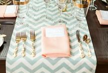 Wedding Styling: Place settings / Creative place settings for your wedding breakfast / by Wolf Whistle - Illustrated Wedding Stationery