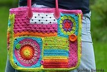 Crochet - Bags, Baskets, Cushions and Rugs / by Rachael Blomeley