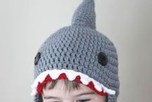 Crochet - Beanies and Clothing / by Rachael Blomeley