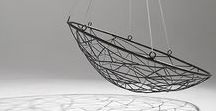 Hanging Chairs / Hanging swing chairs, daybeds, loungers, swings, decor, inspiration, graphics, moodboards, inspiration