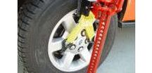 Vehicles | Recovery / Hi-Lift Jacks, RotopaX, Jumper Cables, Straps, Flashlight & Tire Repair Kit.