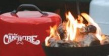 Camp Heating / Stay Warm whether by Campfire or using a Tent Heater.