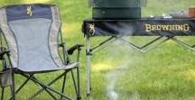 Hunting Furniture / The right type of furniture needed for base camp or in your hunting blind.
