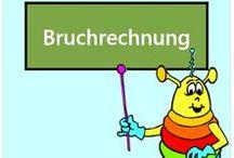 Bruchrechnung / Alle Mathe-Arbeitsblätter des Mathiki-Online-Camps zum Thema: Bruchrechnung - Rechnen mit Brüchen (fraction)