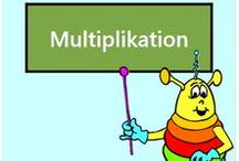 Multiplikation / Alle Mathe-Arbeitsblätter des Mathiki-Online-Camps zum Thema: Multiplikation