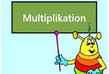 Multiplikation / Alle Mathe-Arbeitsblätter des Mathiki-Online-Camps zum Thema: Multiplikation