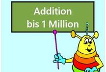 Addition bis 1 Million / Alle Mathe-Arbeitsblätter des Mathiki-Online-Camps zum Thema: Addition bis 1 Million