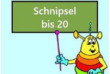 Schnipsel bis 20 / Alle Mathe-Arbeitsblätter des Mathiki-Online-Camps zum Thema: Schnipselaufgaben bis 20