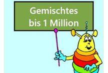 Gemischtes bis 1 Million / Alle Mathe-Arbeitsblätter des Mathiki-Online-Camps zum Thema: Addition, Subtraktion, Multiplikation, Division gemischt bis 1 Million
