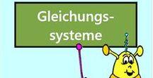 Lineare Gleichungssysteme / Alle Mathe-Arbeitsblätter des Mathiki-Online-Camps zum Thema: Lineare Gleichungssysteme
