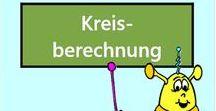 Kreisberechnungen / Alle Mathe-Arbeitsblätter des Mathiki-Online-Camps zum Thema: Kreisberechnungen