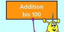 Addition bis 100 Vorschau / Vorschau aller Aufgaben des Mathiki-Online-Camps zum Thema: Addition bis 100