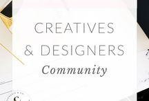 *Creatives + Designers Community* / Web Design, Logo Design, Branding design, Brand Identity, Website development, Design Portfolio, Graphic Designs, Designer, Brand Stylist, Brand Designer, Website Design, Brand Developer