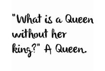 Whats a Queen without her King? A Queen❣
