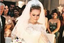 Noivas Nova Noiva / Noivas que usaram vestidos de noiva da Nova Noiva