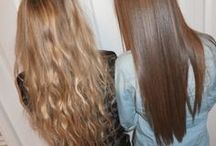 Hair Tips / How to manage and keep gorgeous looking hair by using natural and store bought products.