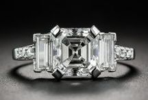 Art Deco Diamond Rings / by LangAntiques