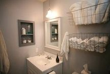 Bathroom ideas & decor / by Mama Rachel