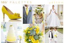 A luz do Amarelo / Referências em amarelo para casamentos