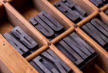 Typography pcts / by Estudi Vaqué, fotografía y diseño