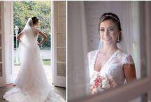 Noivas Reais - noivas com vestidos de noiva da Nova Noiva / Painel com montagem das fotos das noivas que casaram com vestidos de noiva da Nova Noiva