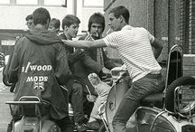 ARCHIVE-Mods / Collection of Mods related images, part of an ongoing obsession with Mods, Lambrettas, Vespas etc.